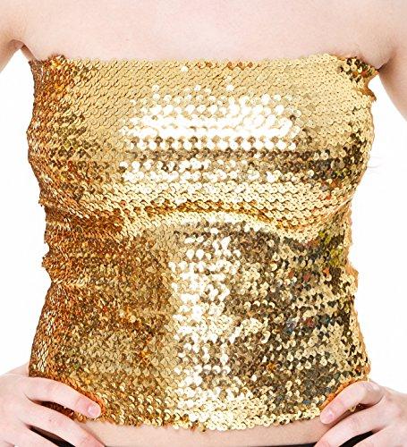 The Turkish Emporium - Camiseta sin mangas - para mujer - Goldfarbe