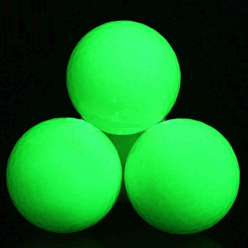 amazon com luminous night golf balls long lasting reusable