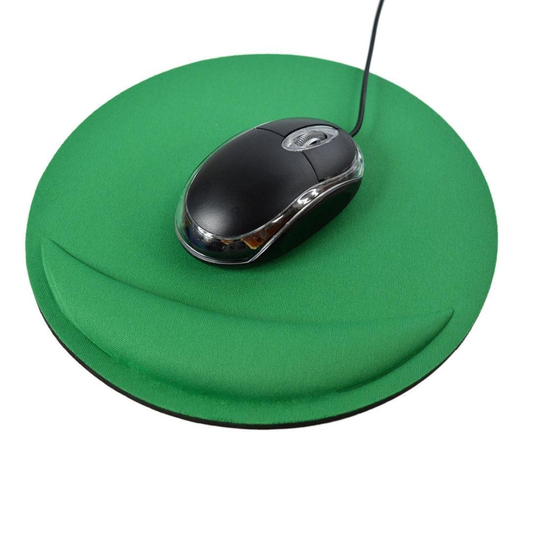 Ergonomic Mouse Pad with Wrist Support Soft EVA Mouse Mat for Laptop Desktop JK
