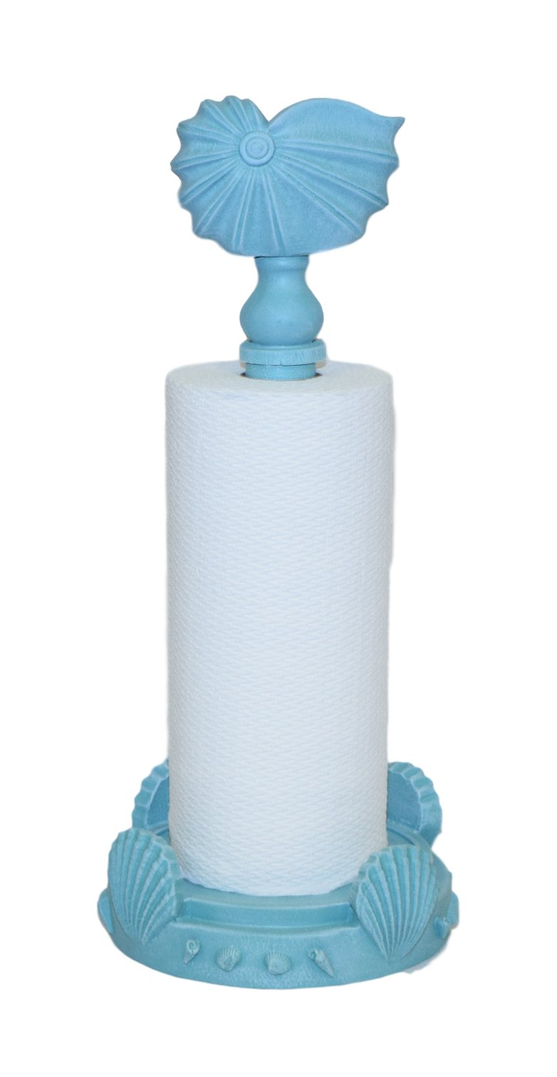 Hickory Manor House Nautilus Paper Towel Holder/Turquoise by Hickory Manor House