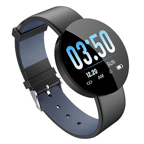 Amazon.com: ZYJ Men Smart Watch, Fitness Tracker Heart Rate ...