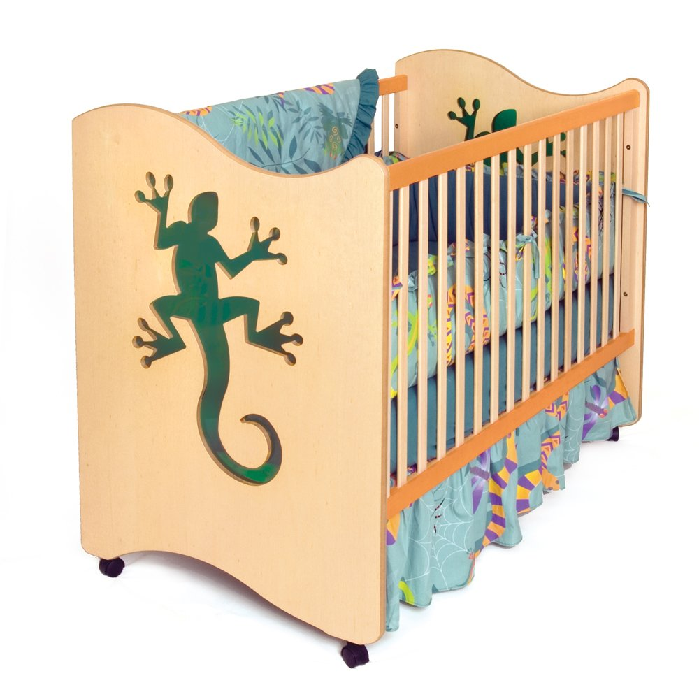 Room Magic 4 Piece Crib Set, Little Lizards by Room Magic   B000HGXM34
