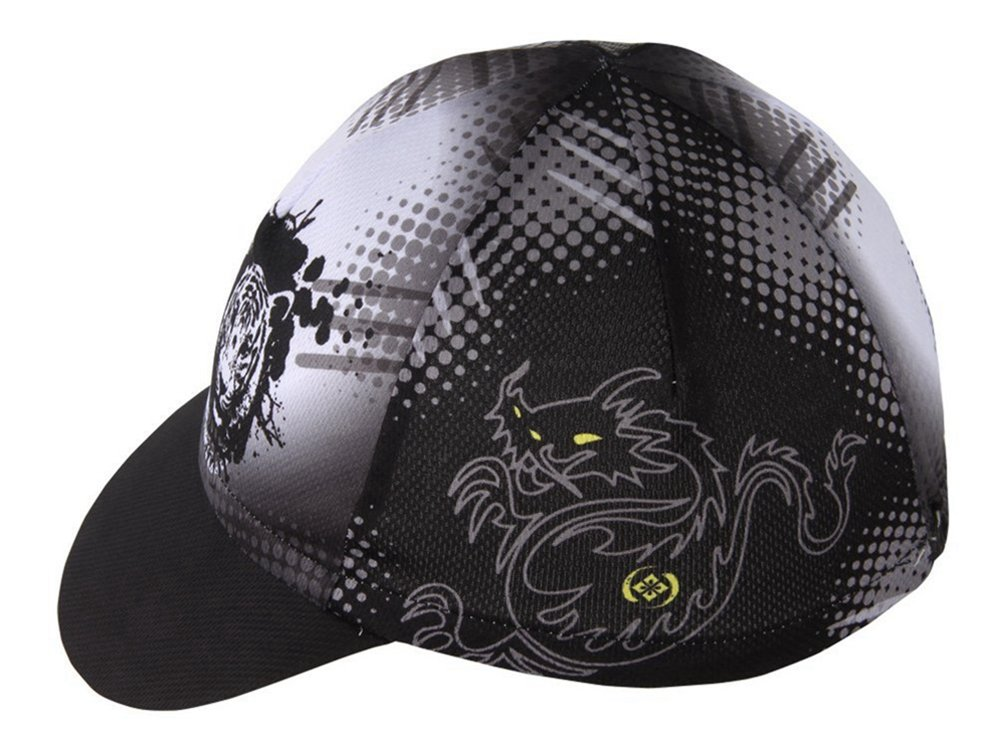 Uriah Cycling Cap Breathable Fits Under Helmet Dragon Tiger