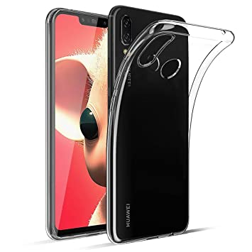 Funda Huawei P Smart Plus Ultra Hybrid Funda Transparente, TPU Silicona Fundas para Huawei P Smart Plus Carcasa Huawei P Smart Plus Silicona Funda ...