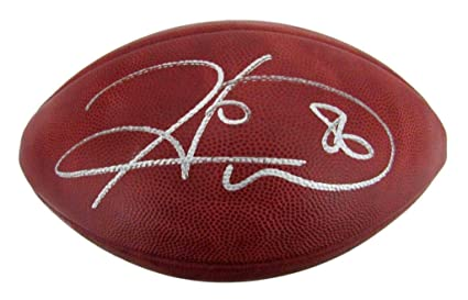 4c3f24e0428 Hines Ward Steelers Signed Leather Auto Wilson