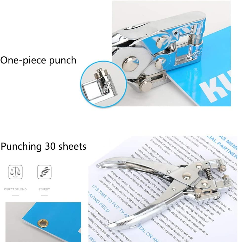 6 Sizes of Round Holes from 2.5mm to 6mm Imaginisce i-punch Hole Punching Tool