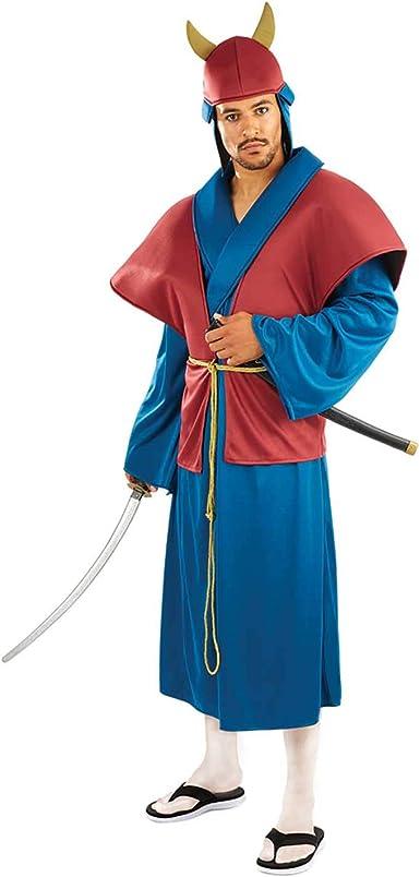 Fun Shack Azul Samurái Disfraz para Hombres: Amazon.es: Juguetes y ...