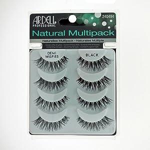 Ardell Profesional Demi Wispies Natural Multipack (4 pares de pestañas)