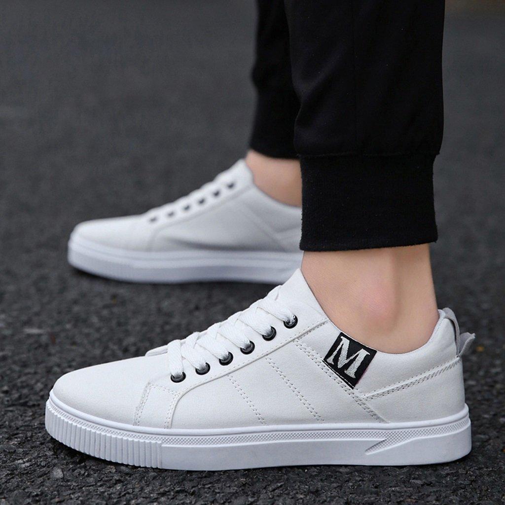 YaNanHome Zapatos para Hombre/Alpargatas Zapatos de Lona de Estilo Nuevo Zapatos de Hombre Zapatos de Tablero Salvaje de Estilo Coreano para Hombres (Color ...