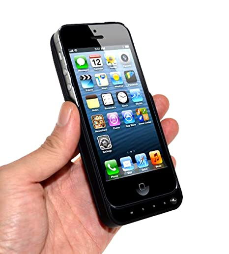 Vanda®-Funda Carcasa con Bateria iphone 5 - 5s - 5: Amazon ...