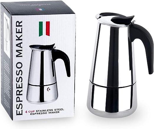 Amazon.com: Zeroomade - Cafetera espresso de acero ...