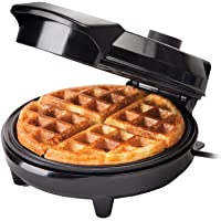 GLOBAL GOURMET Waffle Maker Iron Machine | Electric | Non-Stick Coating Mould | Deep Cooking Plates | Recipes