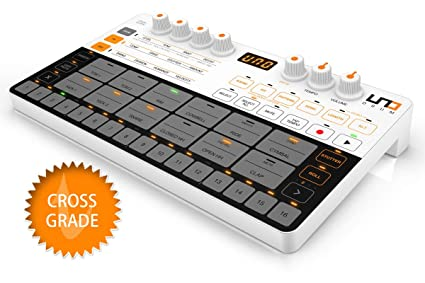IP-UNO-DRUM-IN IK Multimedia UNO Drum Portable Analog//PCM Drum Machine