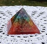emf protection energy generator tourmaline meditation Rainbow Chakra Orgone Pyramid