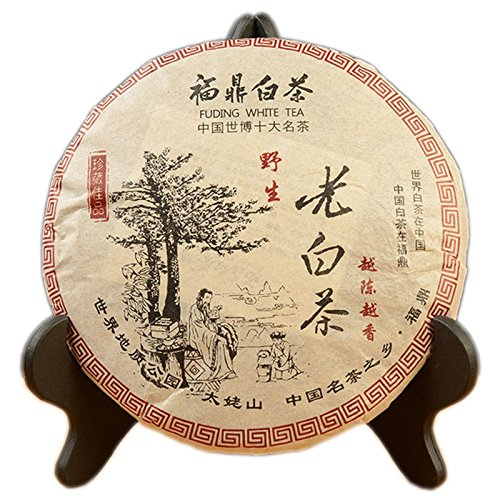 Wild Old White Tea Cake Chinese Gong Mei Fuding Shoumei Tea Bai Cha 350g Shou Mei White Tea
