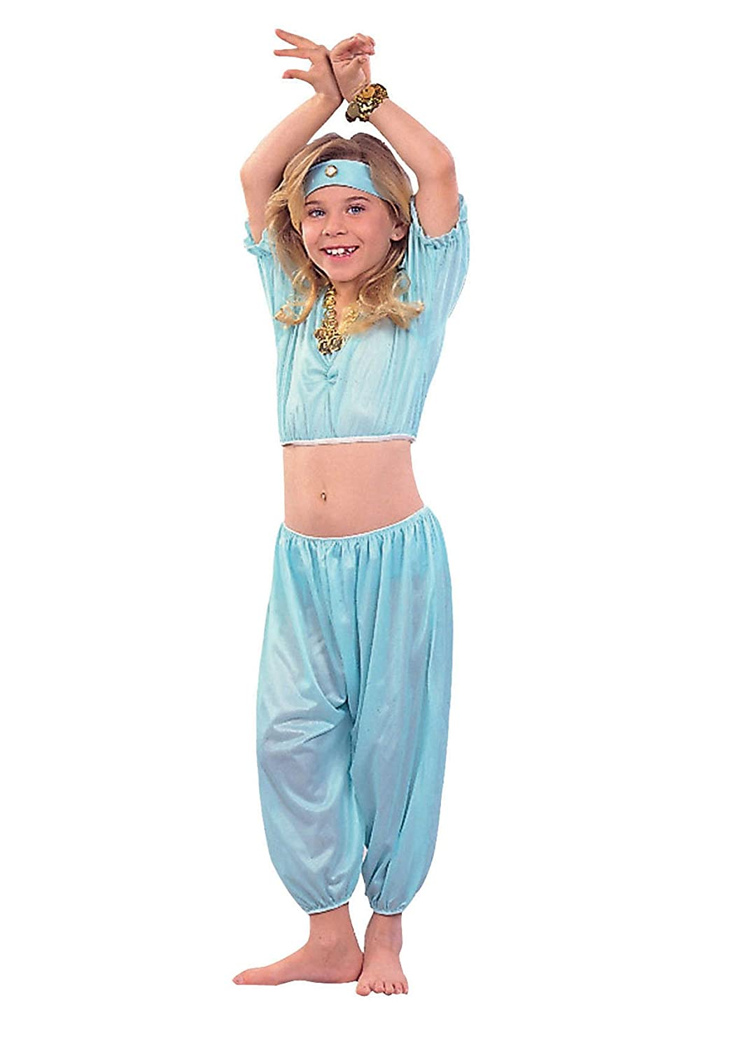 sc 1 st  Amazon.com & Amazon.com: Harem Aladdin Girl Costume: Clothing