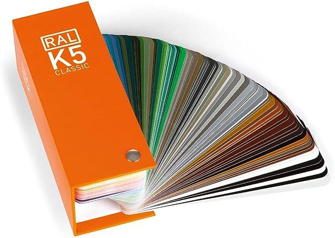 RAL K5 CLASSIC nuancier semi-mat