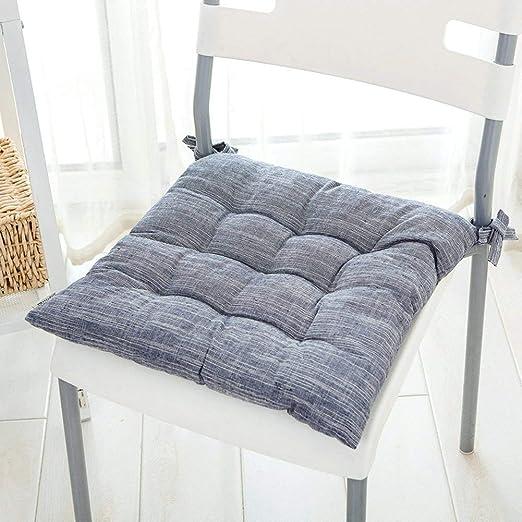 Hartman Posie//Linen Dining Chair Cushion