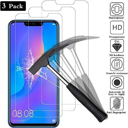 ANEWSIR 3 Pack Pantalla Protectora para Huawei P Smart Plus ...