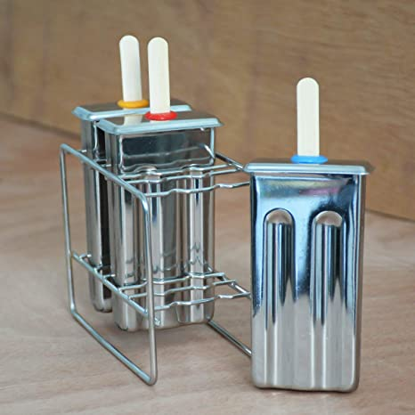 Amazon.com: Windpnn - Moldes y estante para paletas de acero ...