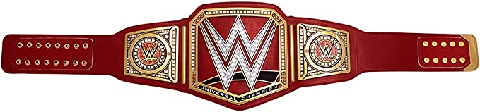 WWE Mattel Elite Raw Universal Heavyweight Championship Belt Lot Title NEW