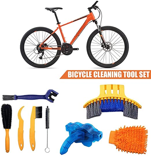 dream-cool - Juego de 8 Herramientas de Limpieza para Bicicleta ...