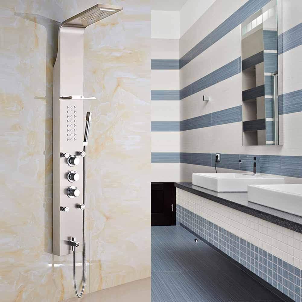 Sistema de ducha de termostato, conjunto de paneles de ducha Ducha ...
