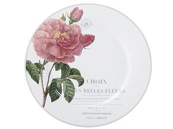 17/cm Set da 4/Pezzi 17/x 17/x 20/cm in Ceramica 16,5/cm Creative Tops Katie Alice Orientale Flora Piatti con Stampa Floreale Decorativo Verde Chiaro