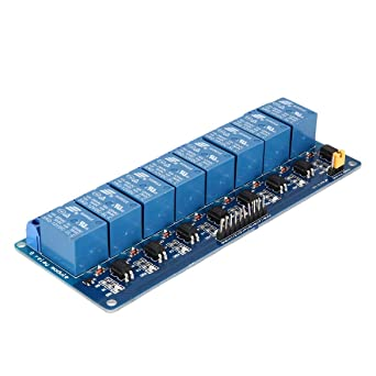 3 V 2 Canales M/ódulo de rel/é Tarjeta de interfaz Optoacoplador de disparo de bajo nivel para Arduino SCM PLC Interruptor de control remoto de casa inteligente