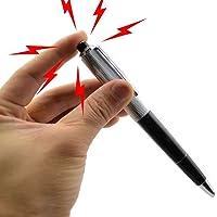 Niome Electric Shock Ball Point Pen Shocking Gift Joke Prank Trick Utility Gadget Toys
