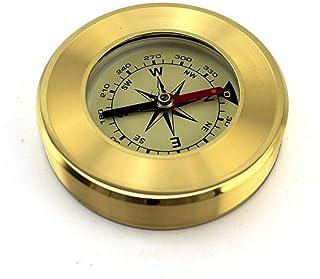 TTYY Compass Outdoor Boussole multifonctionnelle en métal Camping randonnée pédestre outil de navigation
