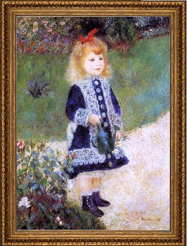 Pierre Auguste Renoir A Girl with a Watering Can - 16