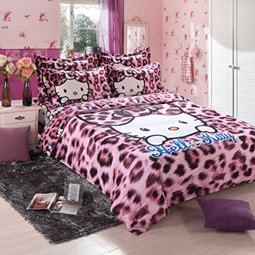 hello kitty bed sheets queen - 1