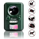 Ultrasonic Cat Repeller, VOLADOR Solar Powered Animal Repeller Outdoor Pest Control with Motion Sensor Dog, Raccoon, Mice, Skunk Repellent