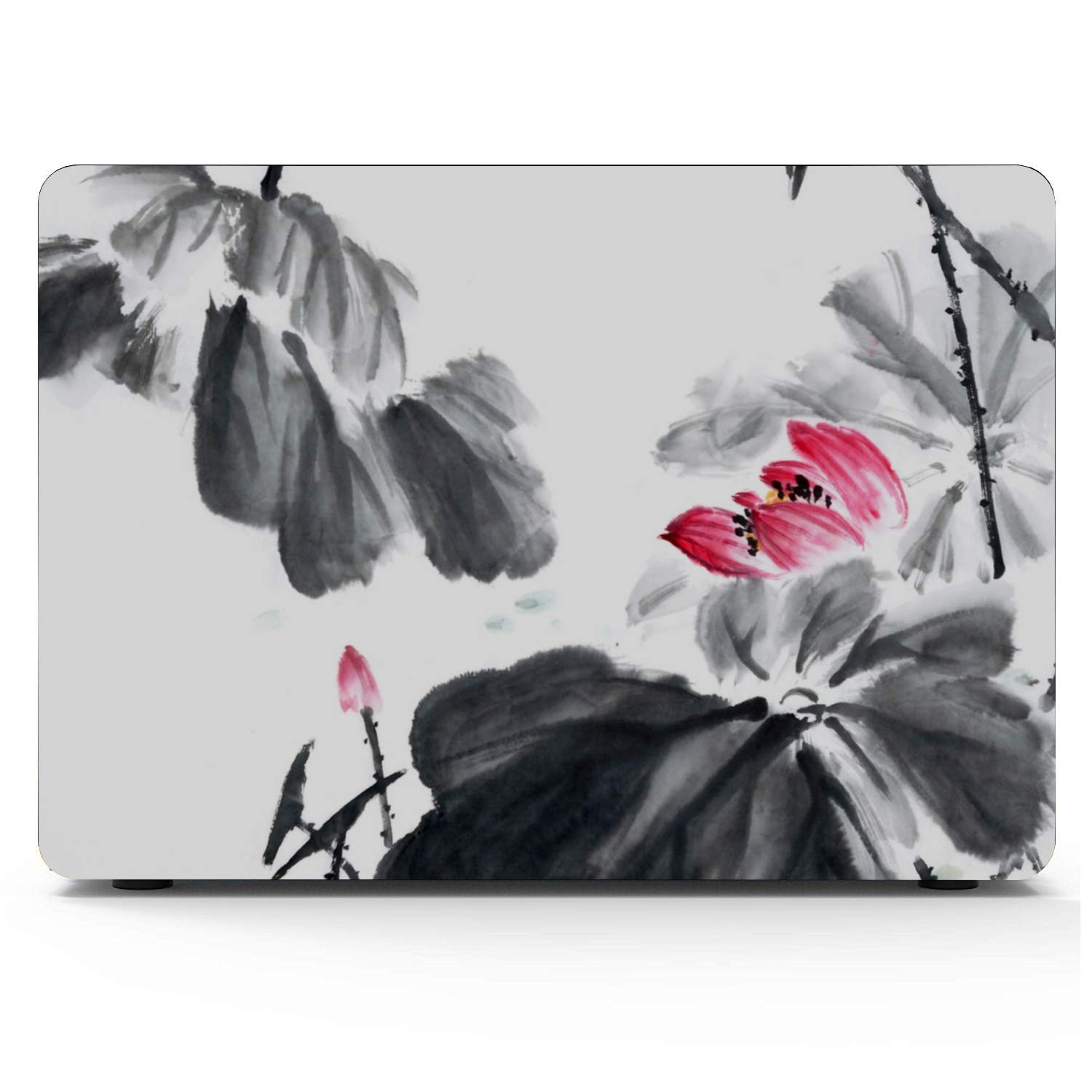 MacBook Air Case Summer Hangzhou Western Lake Lotus Plastic Hard Shell Compatible Mac Air 11 Pro 13 15 2018 MacBook Pro Case Protection for MacBook 2016-2019 Version