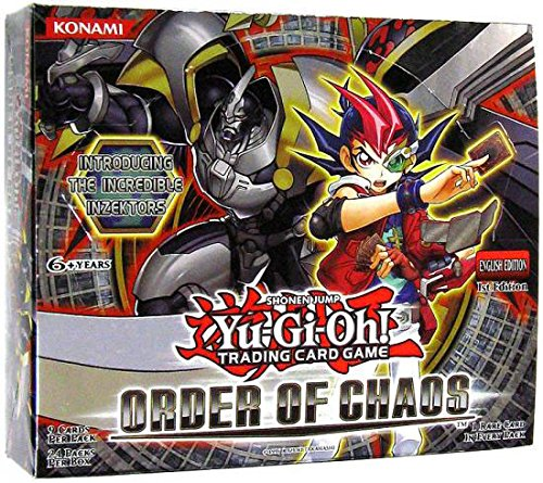 2004 Booster (Yu-Gi-Oh! Order of Chaos Booster Box 24 Packs)