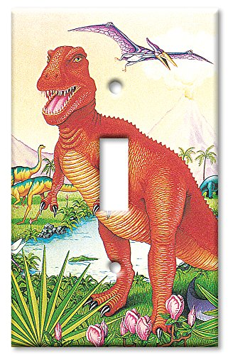 Art Plates - Dinosaurs Switch Plate - Single Toggle