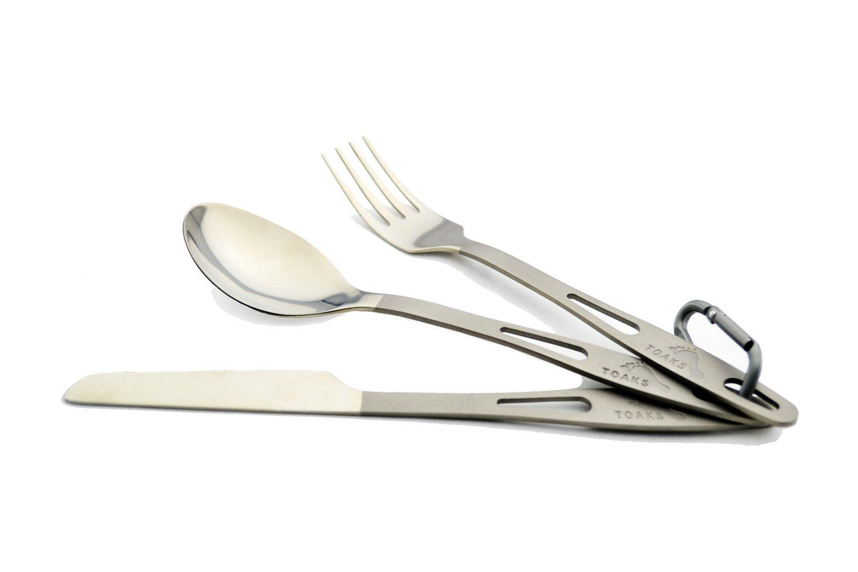TOAKS Titanium 3-Piece Cutlery Set