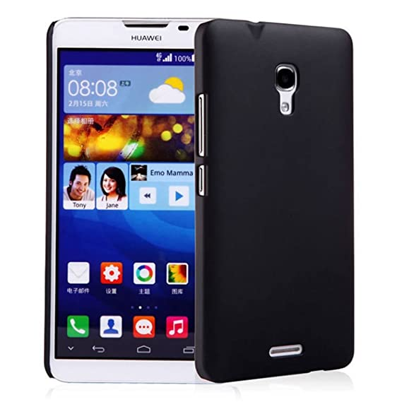pretty nice b2b2b e0b76 Tip-top? Huawei Ascend mate2 Case,Matte Hard Case Cover Protective Skin  Compatible with Huawei Ascend Mate 2 4G (Black)