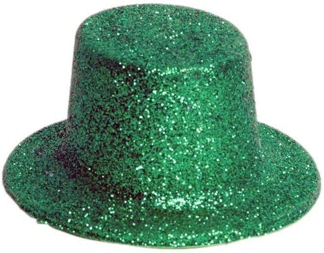 5-ct St Patricks Day Decoration Mini Glittery Plastic Party Hats Patricks Day Fun Cute St Bonus Saint Patrick Oillet St Pack Patricks