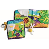 Manhattan Toy Soft Activity Book with Tethered Toy Sunny Day