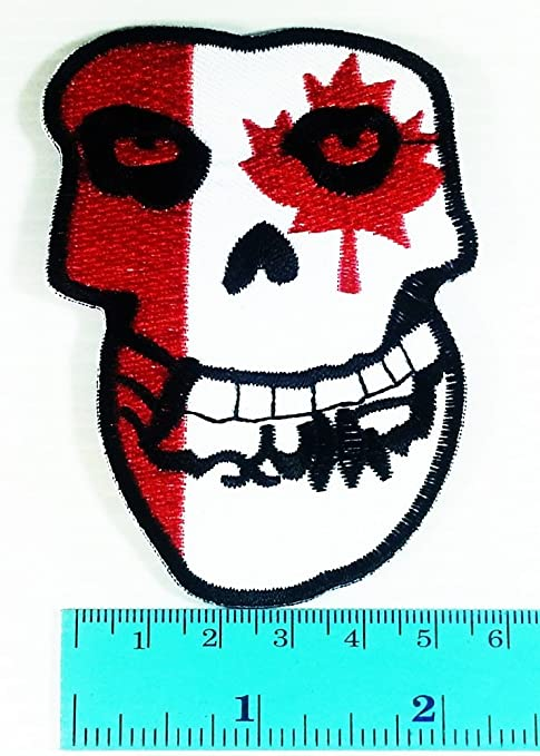 El inadaptados Canadá bandera calavera música banda Heavy Metal ...