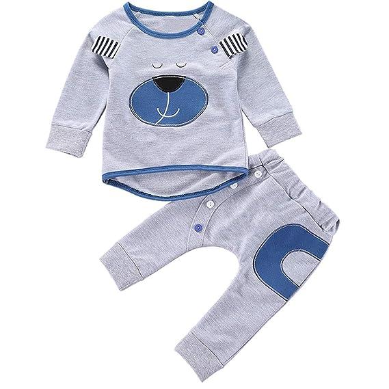 Puseky 2 unids/Set Conjuntos de Ropa de Bebé Trajes de Otoño Bebé ...