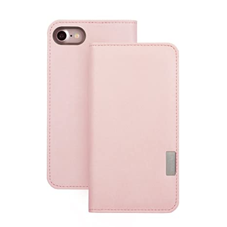 cheap for discount 1792c 7b8b9 Moshi Overture iPhone 8/7 Case (Wallet Case) - Pink