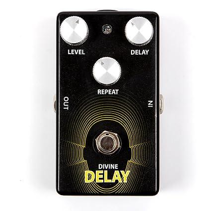Lindo Guitars l-dd Mind Control efectos Divine retraso Pedal de guitarra eléctrica