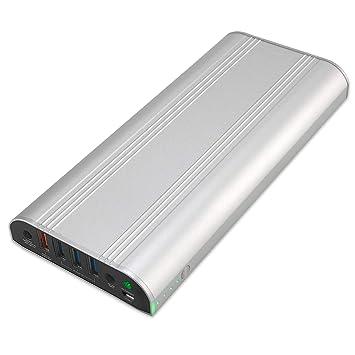 GISSARAL 26800mAh 99Wh Power Bank Cargador batería Externa portátil para New Surface Pro 5/6 Pro 4 Pro 3 Book Book2, 4 Puertos USB para Tableta o ...