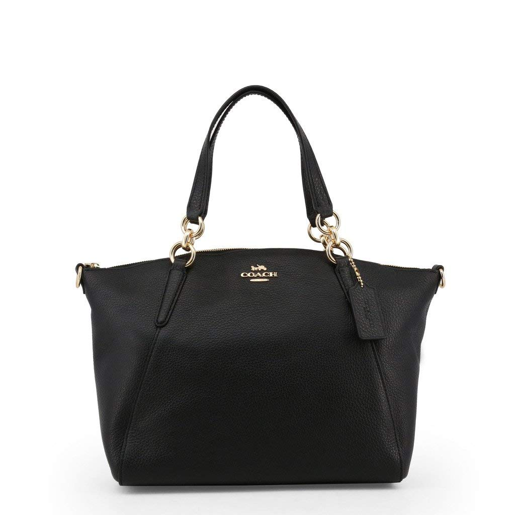 a4248ee0bd Amazon.com: Coach 36625 Pebble Leather Small Kelsey Satchel Black: Shoes