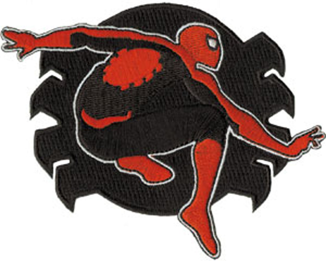 SPIDERMAN Application Spidey Icon PATCH, Officially Licensed Marvel Comics Superhero Artwork, Iron-On / Sew-On, 3.2