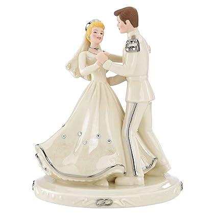 Lenox Disney Cinderella Prince Love Cake Topper Figurine