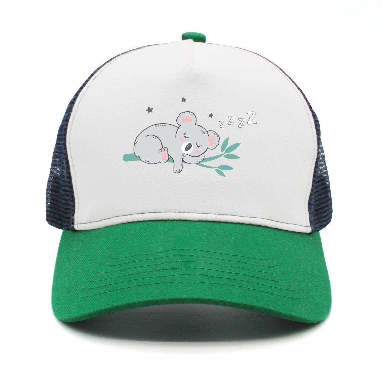 cee530696565e Angry pet Koala Women Men Snapback Hats Mesh Adjustable Cool Cap Hip Hop  caps at Amazon Men s Clothing store